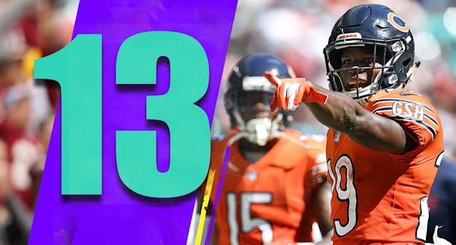 <p>It's hard to believe the Bears' defense let Brock Osweiler torch them in the fourth quarter and overtime. Playoff teams find a way to win games like that. (Tarik Cohen) </p>