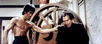 """<a href=""""http://movies.yahoo.com/movie/enter-the-dragon/"""" data-ylk=""""slk:ENTER THE DRAGON"""" class=""""link rapid-noclick-resp"""">ENTER THE DRAGON</a> (1973) <br>Directed by: <span>Robert Clouse</span> <br>Starring: <span>Bruce Lee</span>, <span>John Saxon</span> and <span>Jim Kelly</span>"""