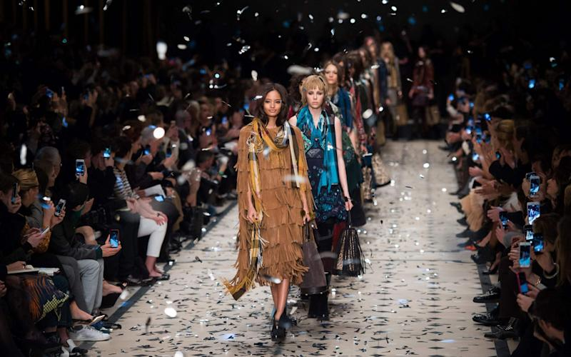 Alfred Frère upped his stake in Burberry from 4pc to 6pc - AFP