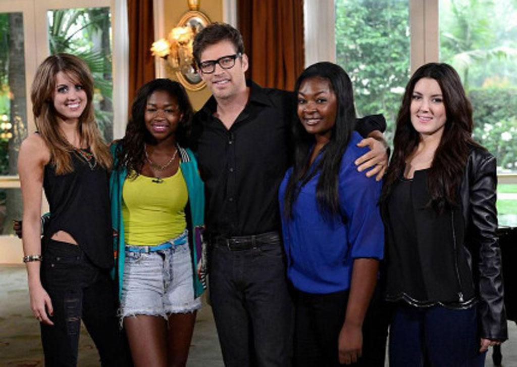 "Multi-talented artist Harry Connick, Jr mentors the final 4 on the Wednesday, May 1 episode of ""American Idol."""