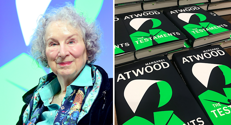 The Testaments by Margaret Atwood is out now [Photo: PA]