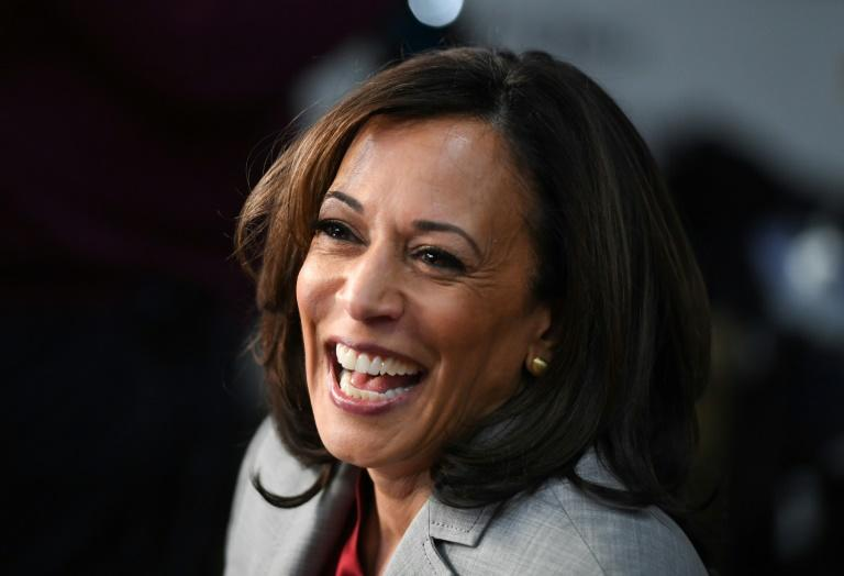 US Senator Kamala Harris, one of the most high-profile Democratic candidates to drop out of the race, launched her presidential bid to great fanfare in January 2019, but her campaign faltered over the next several months (AFP Photo/SAUL LOEB)