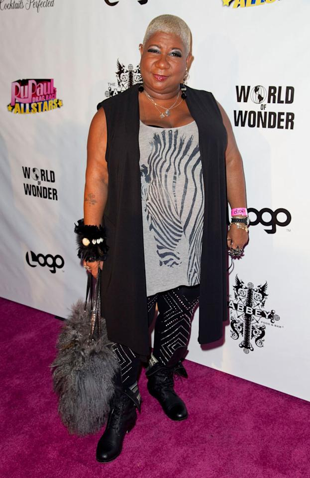 "Luenell arrives at the ""RuPaul's Drag Race: All Stars"" Premiere Party at The Abbey on October 16, 2012 in West Hollywood, California."