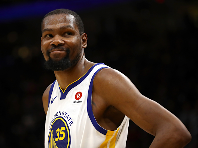 "The Warriors are keeping their core intact with <a class=""link rapid-noclick-resp"" href=""/nba/players/4244/"" data-ylk=""slk:Kevin Durant"">Kevin Durant</a>'s return. (AP)"