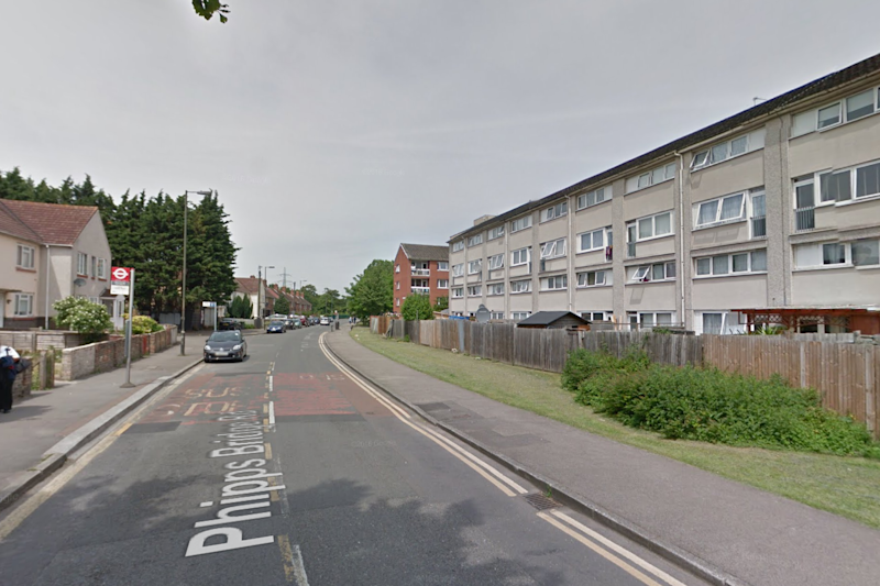 Shooting: Armed police descended on a street in Merton: Google maps