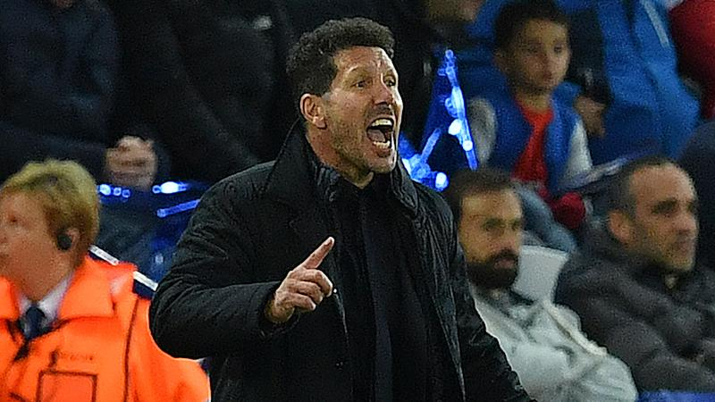 Simeone vows Atletico will keep on fighting in Liga title race