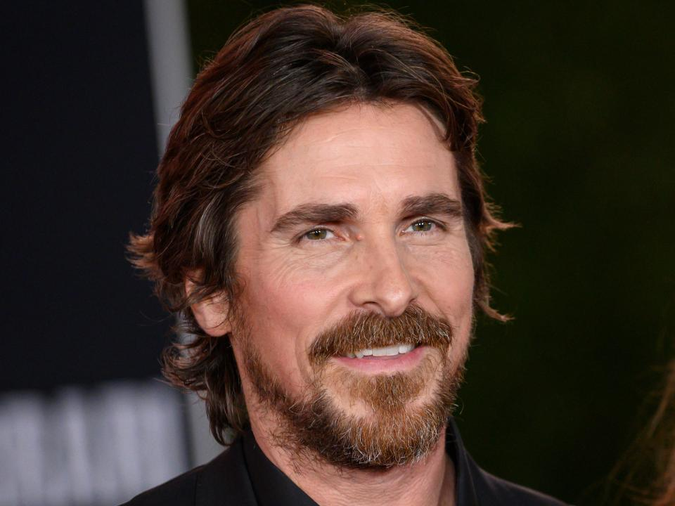 British actor Christian Bale arrives for the premiere of 20th Century Fox's