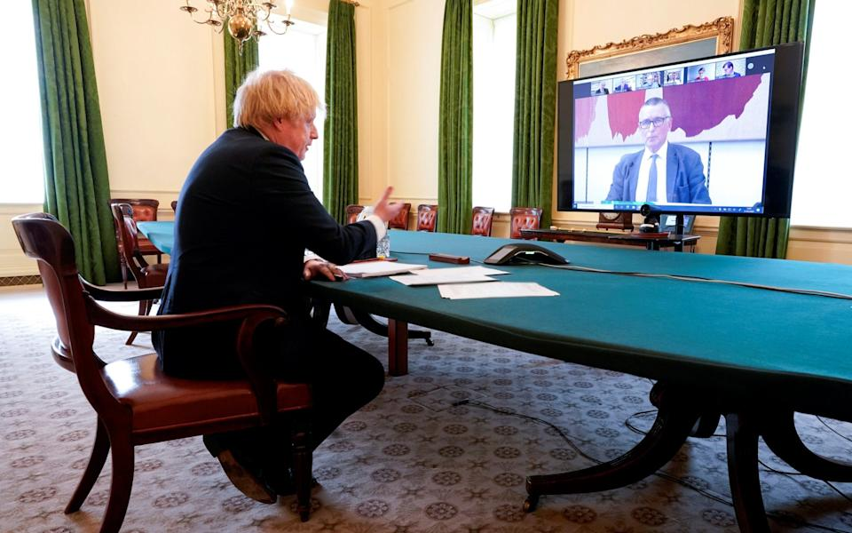 Boris Johnson last appeared before the Liaison Committee in May - Reuters