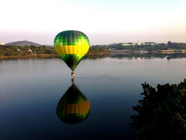 Hot air balloon rides in Malaysia via My Balloon Adventure. (Photo: My Balloon Adventure)
