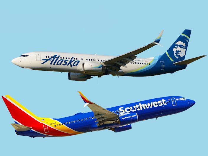 Southwest Airlines vs Alaska Airlines