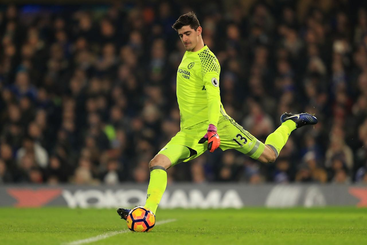 Thibaut Courtois slams referee for letting Alexis Sanchez's 'volleyball block' stand
