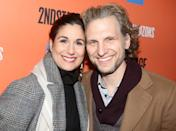 """<p>The longtime couple are actually an instance of an onstage romance turning into an offstage one! Back in 2007, Block was playing Elphaba in <strong>Wicked</strong> on Broadway, and Arcelus was cast as her love interest, Fiyero. The onstage sparks turned into a real romance, and they ended up getting married before a performance one night! """"I essentially bought her an engagement ring before we officially stated dating, because <span>I just knew I was going to wed her</span>,"""" Arcelus told CBS in 2018. """"One day we got married at City Hall, and that night did the show as a married couple singing 'As Long as You're Mine' to each other onstage.""""<br></p>"""