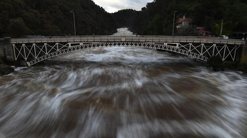 Road closed in Tas over flood fears