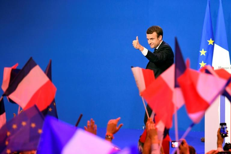 Emmanuel Macron is hoping voters will give his new brand of politics the thumbs up