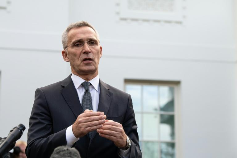"""NATO chief Jens Stoltenberg said he will """"address any differences"""" over the alliance with the French president in Paris next week"""