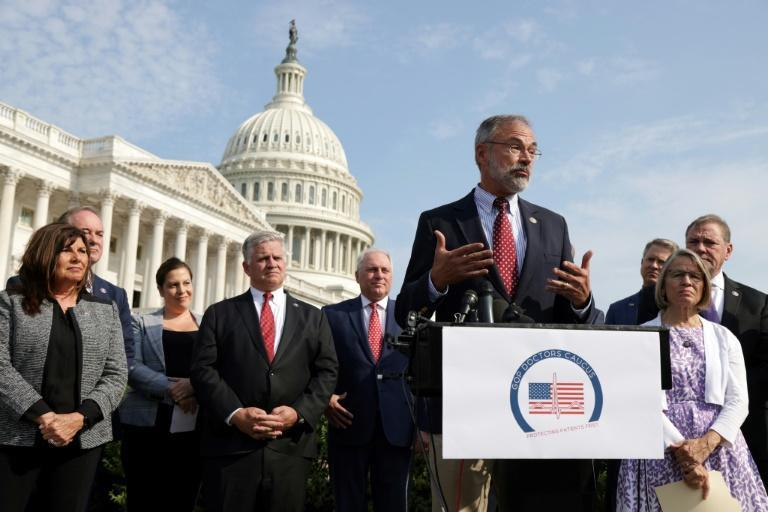 As US Covid infections soar once again and millions of Republicans remain skeptical about vaccinations, members of the House GOP Doctors Caucus stressed to anyone who would listen that vaccines are safe and effective