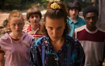 <p><strong><em>Stranger Things </em><br></strong><br>When not in the Upside Down, this supernatural Netflix drama is set in Hawkins, Indiana in the mid '80s. The fashion is fun, but its the scares that keep audiences hooked. <strong><br></strong></p>