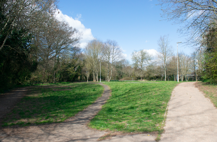 Five boys were arrested following the attack in Longcroft Park. (SWNS)