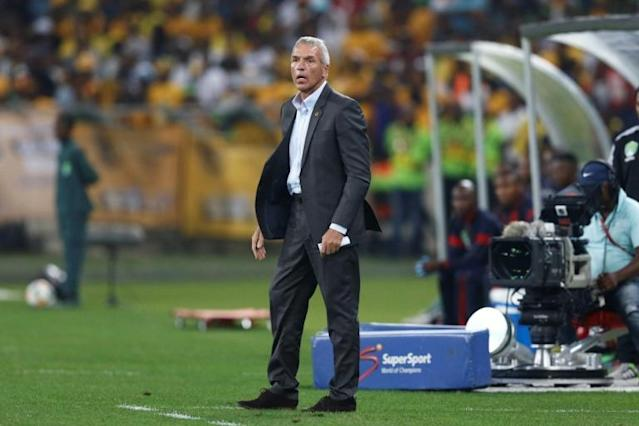 German coach Ernst Middendorp has guided South African Premiership leaders Kaizer Chiefs to six wins in eight matches this season (AFP Photo/Anesh Debiky)