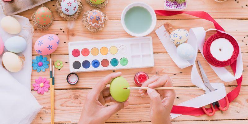 """<p>There's nothing like an afternoon of crafting with the whole family to help cement memories with your little ones and establish meaningful Easter traditions. This spring, we encourage you to kick off your Easter festivities with some our our favorite easy Easter crafts that both kids and adults will enjoy making. These DIY ideas are as inexpensive as they are fun—plus, the finished products make for cute Easter decorations, too! What better way to kill two birds with one stone? </p><p>Go for all-out, full-on crafts that'll steal the show in a fun and festive way, like cute bunny ear headbands that'll make everyone laugh and party hats decorated with rabbit faces. Or opt for something more subtle, like salt dough Easter eggs you can hang on your <a href=""""https://www.countryliving.com/diy-crafts/g26498744/easter-tree/"""" rel=""""nofollow noopener"""" target=""""_blank"""" data-ylk=""""slk:Easter tree"""" class=""""link rapid-noclick-resp"""">Easter tree</a>, bright, cheerful tissue paper """"chicks"""" that can sit by the centerpiece on your dining table, or an easy <a href=""""https://www.countryliving.com/diy-crafts/g4088/easter-wreath/"""" rel=""""nofollow noopener"""" target=""""_blank"""" data-ylk=""""slk:Easter wreath"""" class=""""link rapid-noclick-resp"""">Easter wreath</a> made of paper that'll cost you less than $5 to put together. Our favorite part? No matter what project you pick, each craft doubles as inspired home décor that'll elevate your entire gathering. <em>Hoppy </em>crafting!</p><p>P.S. Check out our handy guide on <a href=""""https://www.countryliving.com/diy-crafts/g26810304/how-to-dye-easter-eggs/"""" rel=""""nofollow noopener"""" target=""""_blank"""" data-ylk=""""slk:how to dye Easter eggs"""" class=""""link rapid-noclick-resp"""">how to dye Easter eggs</a>!</p>"""
