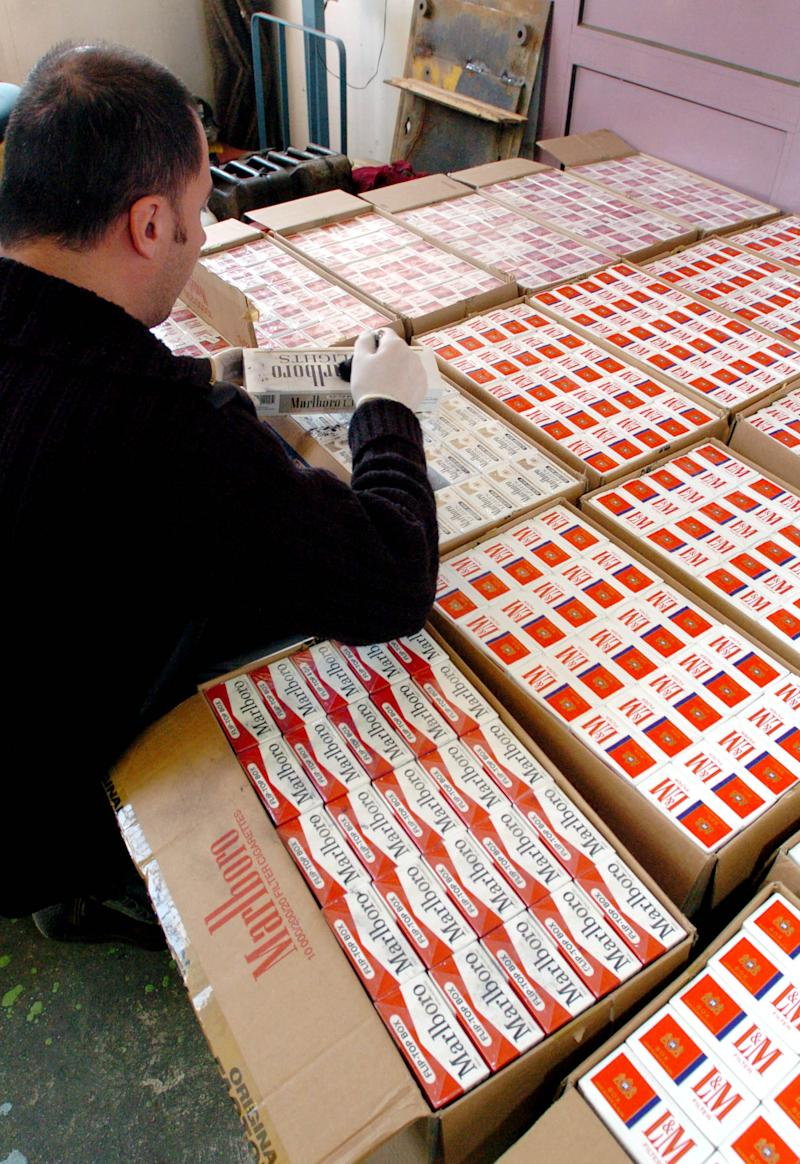 UN says nations move to fight cigarette smuggling