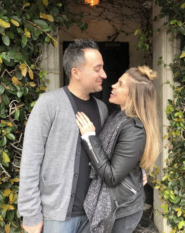 "<p>Sorry Topanga fans, this girl is off the markert! ""I woke up today thinking it would be a normal day and it was anything but normal,"" the<em> Girl Meets World</em> star captioned this shot with her now-fiancé, <em>Drop the Mic</em> executive producer Jensen Karp. ""I put on my Genghis Cohen t-shirt and went to see @jensenclan88 at work where I proceeded to screw up a very romantic marriage proposal by being too efficient (this is very on brand for me). The future Mr. and Mrs. Karp are now engaged and no one is more excited than I am."" (Photo: <a href=""https://www.instagram.com/p/BgpZ7y7l_c7/?taken-by=daniellefishel"" rel=""nofollow noopener"" target=""_blank"" data-ylk=""slk:Danielle Fishel via Instagram"" class=""link rapid-noclick-resp"">Danielle Fishel via Instagram</a>) </p>"