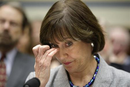 U.S. Director of Exempt Organizations for the IRS Lerner waits to testify at House Oversight and Government Reform Committee hearing in Washington