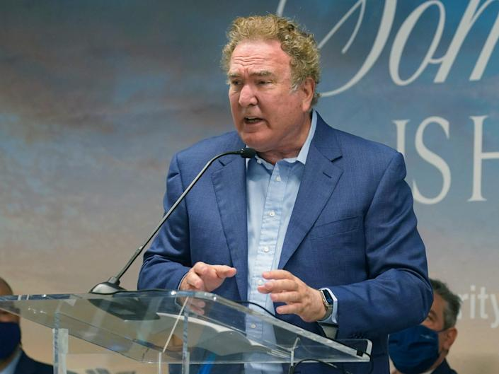 Richard Fain, the chairman and CEO of Royal Caribbean Group, speaking in June