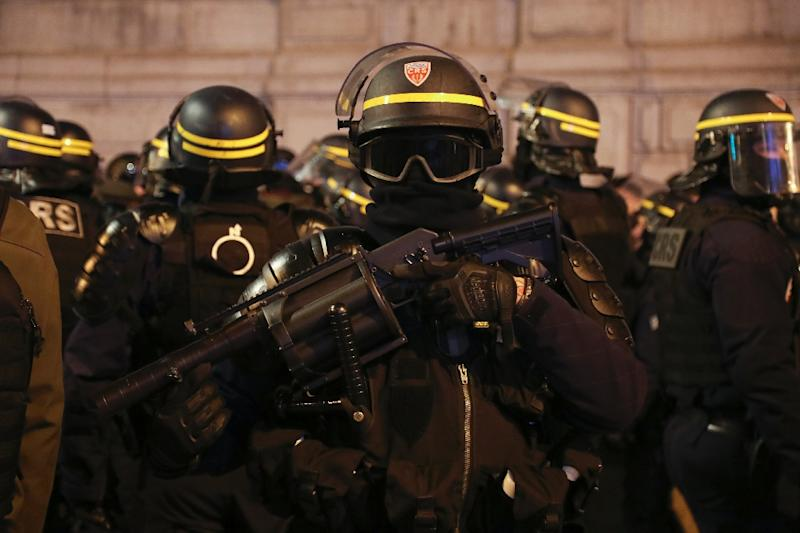 French police have used a range of crowd control weapons blamed by some rights activists for serious injuries to 'yellow vest' protesters (AFP Photo/Zakaria ABDELKAFI)