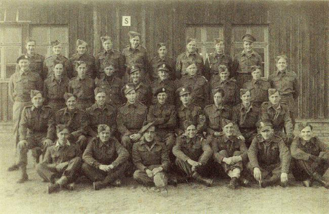 "<p class=""MsoNormal"" style="" ""><span>Photo from Stalag 8B. Theodore Bennett is top row, 3rd from the left. Photo courtesy of <a href=""http://www.thememoryproject.com/stories/449:theodore-j.-bennett/"" target=""_blank"">Historica-Dominion Institute</a>.</span></p>"