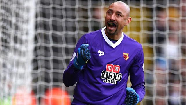 <p><strong>Number of saves this season: 80</strong></p> <br><p>If a goalkeeper is frequently making saves does it say something about the quality of the man between the sticks or the shoddiness of the defending in front of him? </p> <br><p>When it comes to the case of Watford's Heurelho Gomes you could argue the latter, with the Hornets' back line in disarray for much of the second half of the season, prompting the Brazilian man-mountain to take responsibility in keep the goals down. </p>
