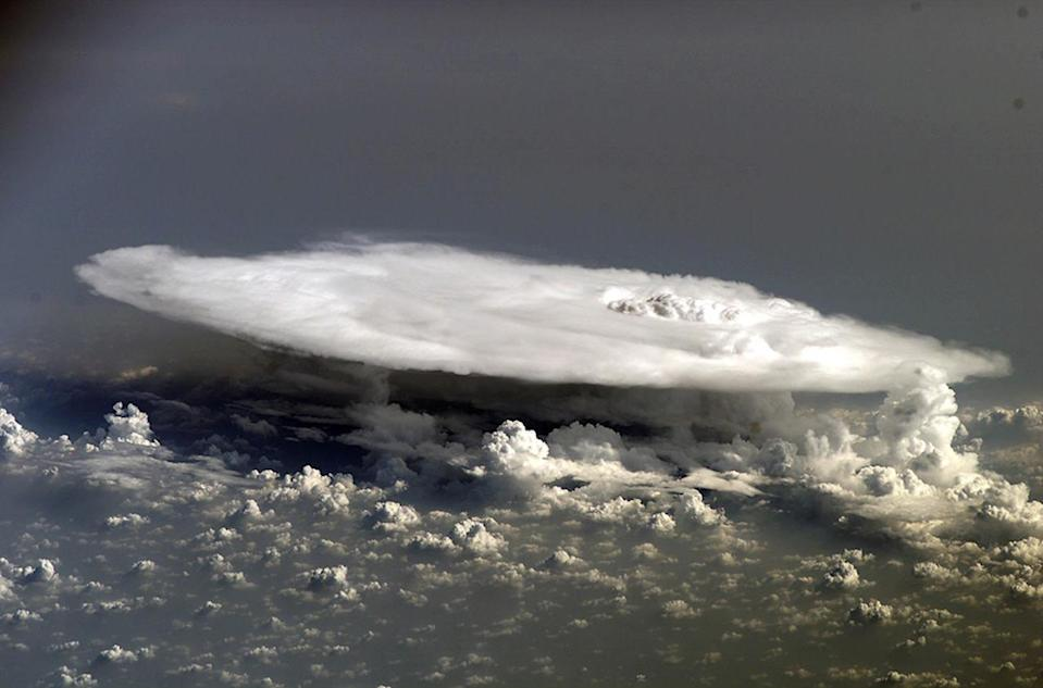 Super-cold thunderstorm sets record with -111°C cloud temperature