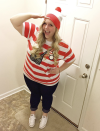 """<p>Looking for a work-appropriate costume? Try this classic book character. Just top your favorite pair of jeans with a red-and-white striped shirt and add a coordinating hat. </p><p><a class=""""link rapid-noclick-resp"""" href=""""https://www.amazon.com/elope-Womens-Wenda-Costume/dp/B007AFPNSM?tag=syn-yahoo-20&ascsubtag=%5Bartid%7C10072.g.28615520%5Bsrc%7Cyahoo-us"""" rel=""""nofollow noopener"""" target=""""_blank"""" data-ylk=""""slk:SHOP COSTUME"""">SHOP COSTUME</a></p>"""