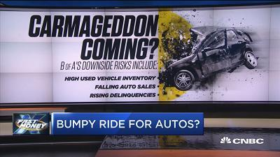 Michelle Meyer, Bank of America Merrill Lynch chief economist, explains why a bumpy road may be ahead for the U.S. auto market.