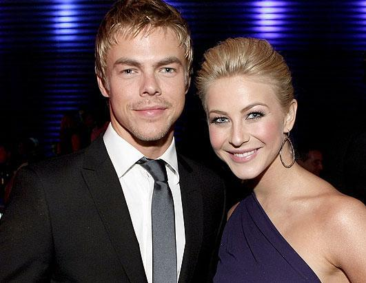 """Professional dancers Derek and Julianne Hough both broke out as stars on ABC's """"Dancing With the Stars."""" The brother and sister pros each took home the top spot and the show's coveted mirror ball trophy. Both have since left the show for careers in dancing, singing and acting."""