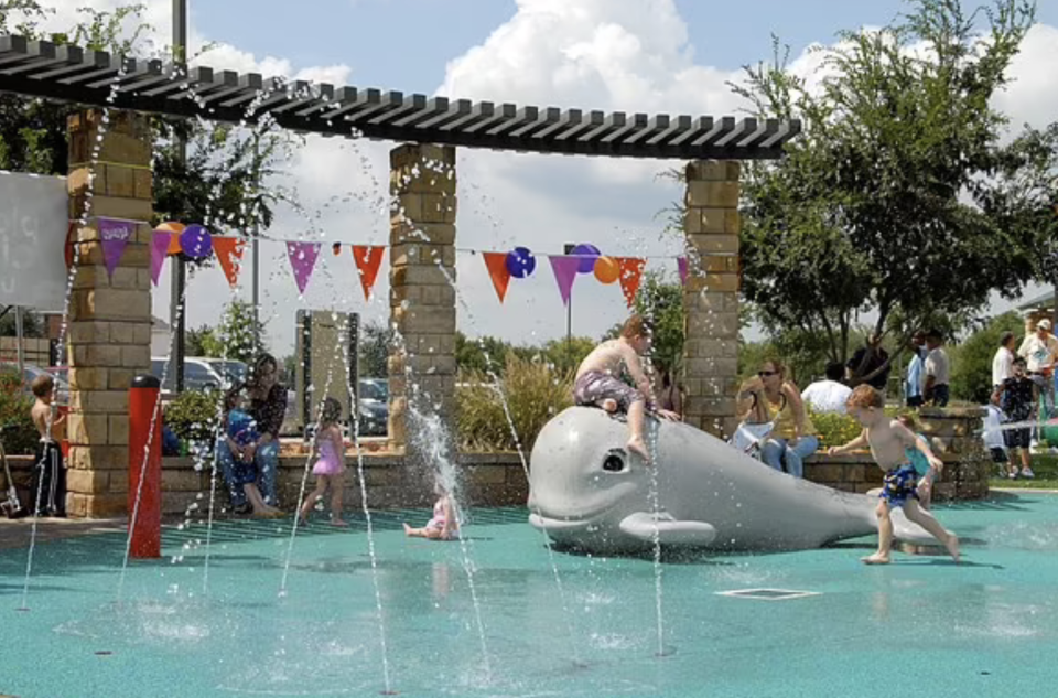 Don Misenhimer Park's kiddy pool is pictured.