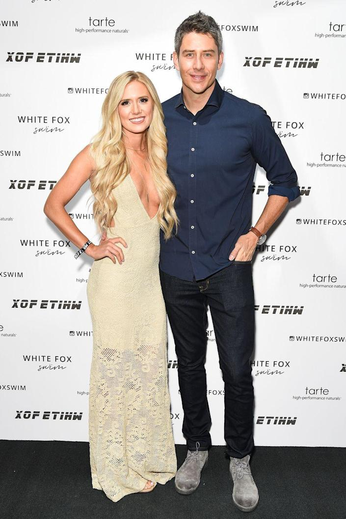 """<p>Arie Luyendyk Jr. managed to one-up Jason with his final decisions as <em>The Bachelor</em>. He proposed to Becca Kufrin during the finale only to later take it back. No fan will ever forget his camera-crew-toting breakup ambush for all of<em> Bachelor</em> Nation to see. Ultimately, he chose runner-up Lauren Burnham and proposed to her on """"After the Final Rose.""""</p><p>Arie and Lauren married in Hawaii in January 2019. Not long after, they became a family of three, welcoming their baby girl, Alessi, in May 2019. And, now their family's growing again. The couple announced in December 2020 that they're expecting twins—a boy and a girl. <br></p>"""