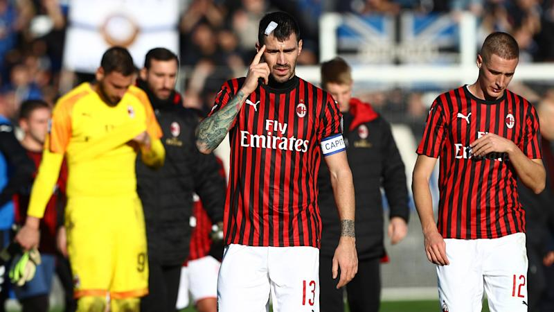 Milan humbled 5-0 at Atalanta, worst league loss in 21 years