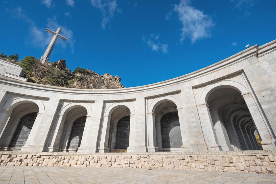 The monument commemorate those who died in Spain's Civil War - Credit: herraez - Fotolia