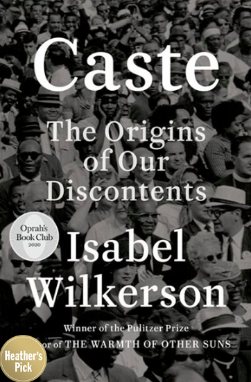 Caste: The Origins of Our Discontents by Isabel Wilkerson (Photo via Chapters Indigo)