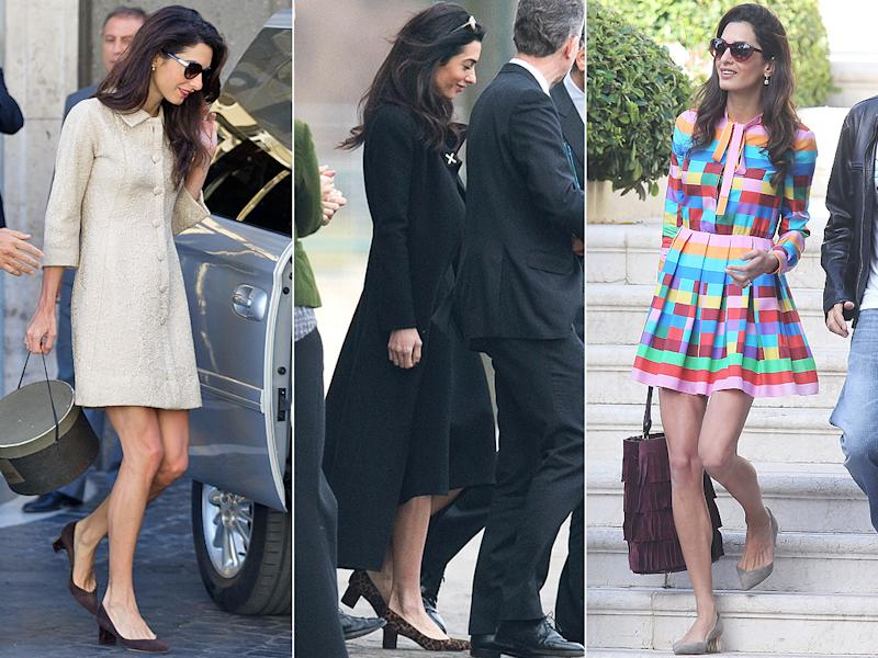 Amal Clooney in the Emma flat