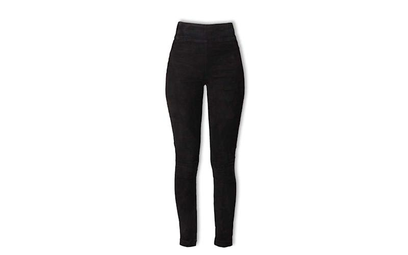 bdb1d8ea7b93e7 These Machine-washable Leather Leggings Are Our Newest Travel Staple