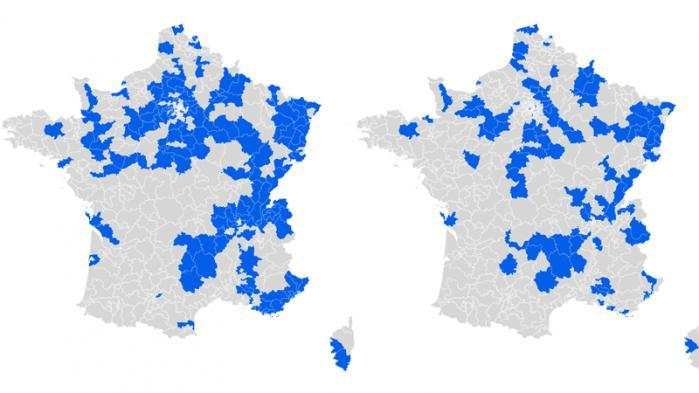 CARTE. Législatives : la France de l'abstention au second tour