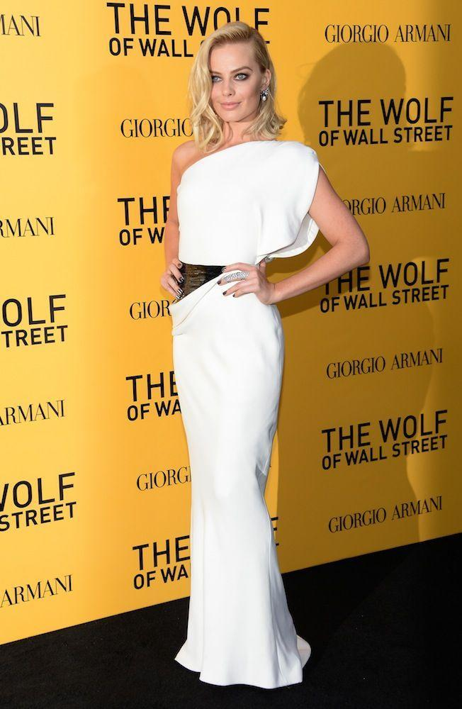 <p>At the premiere for Wolf of Wall Street in 2013</p>