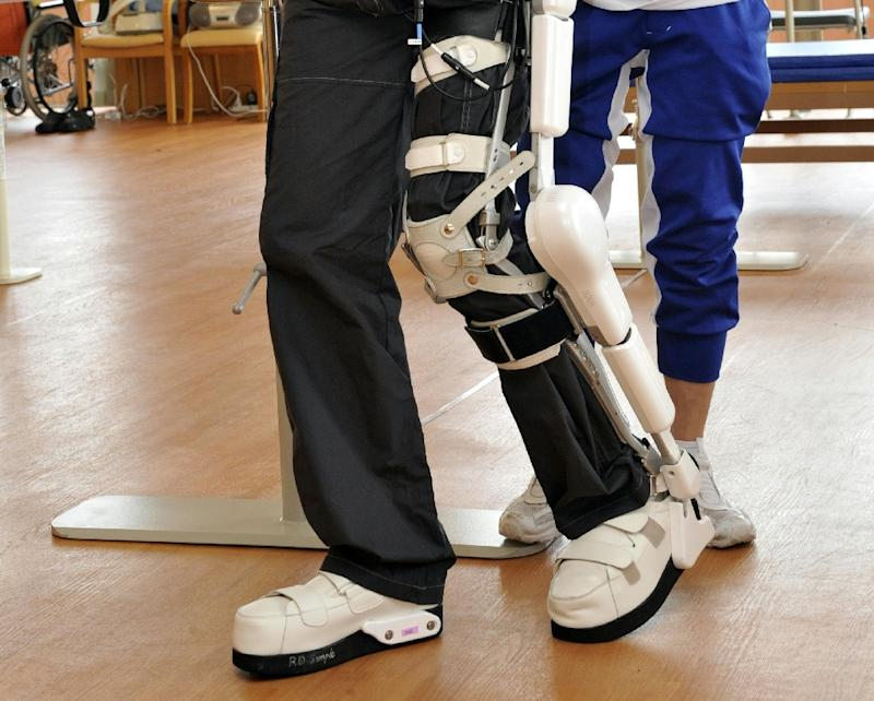 Exoskeletons are external devices that can help with the rehabilitation of disabled and elderly people