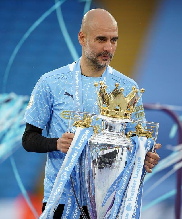 Three-time Premier League winner Guardiola says other people can judge whether he is a success or not