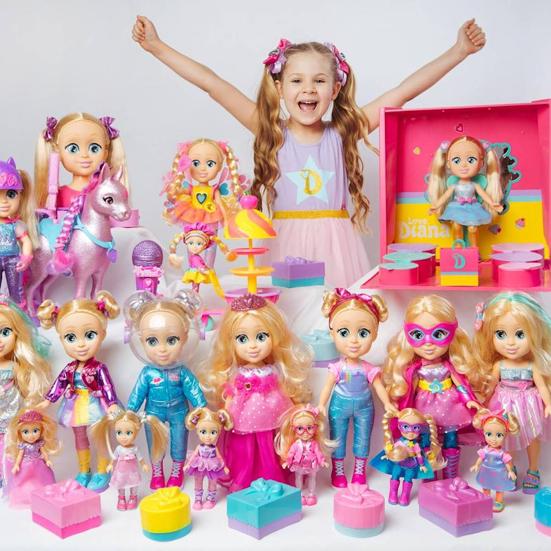 The Love, Diana YouTube Star Toy Line at Walmart Is Selling Out in a Snap!