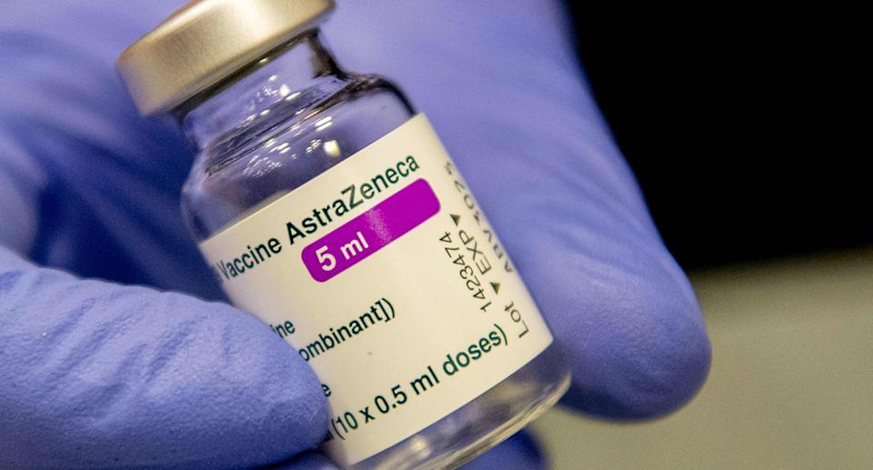 The use of the AstraZeneca vaccine has been suspended in multiple countries. Source: AP