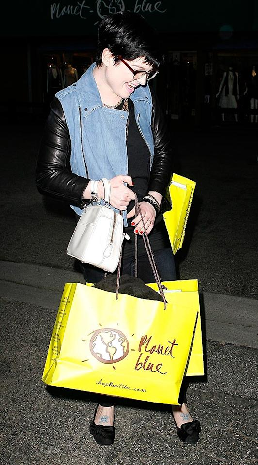 """""""Shopping always makes me happy!"""" AKM/<a href=""""http://www.x17online.com"""" target=""""new"""">X17 Online</a> - February 19, 2009"""