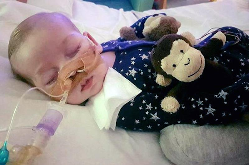 Fund raising: Charlie Gard's parents want to take him to the US for pioneering treatment: PA